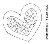 heart. | Shutterstock .eps vector #516854032