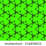 abstract geometric seamless... | Shutterstock .eps vector #516858022