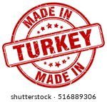 made in turkey. stamp. | Shutterstock .eps vector #516889306
