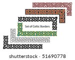 vector set of celtic style...