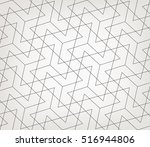 abstract geometric pattern with ... | Shutterstock .eps vector #516944806