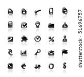 perfect designer vector icons... | Shutterstock .eps vector #51696757