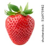 strawberry isolated on the