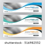 abstract banner design... | Shutterstock .eps vector #516982552