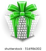 present with ribbon | Shutterstock .eps vector #516986302