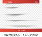 realistic vector shadow with... | Shutterstock .eps vector #517014502