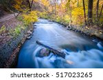 this is the minnehaha creek... | Shutterstock . vector #517023265