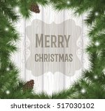 merry christmas | Shutterstock .eps vector #517030102