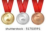 golden  silver  bronze medals ...