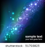 abstract glowing background  ... | Shutterstock .eps vector #51703825