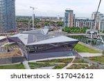 london  england   july 7  2016  ... | Shutterstock . vector #517042612