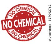 no chemical grunge rubber stamp ... | Shutterstock .eps vector #517042762