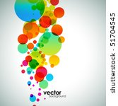 abstract colorful background.... | Shutterstock .eps vector #51704545