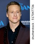Small photo of Alan Tudyk at the AFI FEST 2016 Premiere of 'Moana' held at the El Capitan Theatre in Hollywood, USA on November 14, 2016.