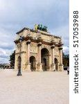 paris  france   september 6 ... | Shutterstock . vector #517053988