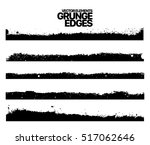 hand drawn edges pattern... | Shutterstock .eps vector #517062646