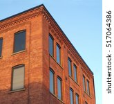 Red Brick Office Building...