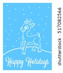new year greeting cards blue ...   Shutterstock .eps vector #517082566