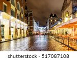 christmas lights 2016 in covent ... | Shutterstock . vector #517087108