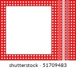 A Vector Illustration Of A Red...