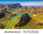 Small photo of Republic of South Africa - Mpumalanga province. Blyde River Canyon (the largest green canyon in the world, fragment of the Panorama Route)