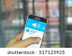 montreal  canada   june 24 ... | Shutterstock . vector #517125925
