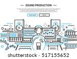 illustration of modern simple... | Shutterstock . vector #517155652