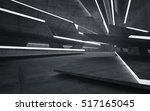 empty dark abstract concrete... | Shutterstock . vector #517165045