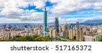 Panoramic Of Taipei City...