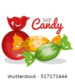 candy sweet isolated icon | Shutterstock .eps vector #517171666