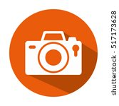 camera photographic isolated... | Shutterstock .eps vector #517173628