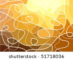 abstract geometric mosaic... | Shutterstock .eps vector #51718036