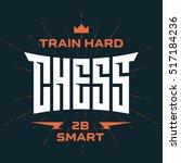 chess emblem with original...   Shutterstock .eps vector #517184236