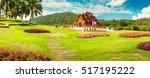amazing panoramic scenery view... | Shutterstock . vector #517195222