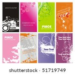 collection vertical business... | Shutterstock .eps vector #51719749