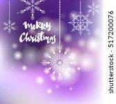 Christmas  Card With Snowflake...