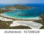 white beach in sardinia | Shutterstock . vector #517208128