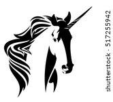 Beautiful Unicorn Horse Head ...