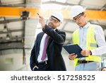 mid adult businessman with...   Shutterstock . vector #517258525