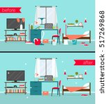 vector illustration of dirty...   Shutterstock .eps vector #517269868