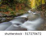 flowing water   river cascade... | Shutterstock . vector #517270672