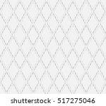 rhythm soft gray color lattice... | Shutterstock .eps vector #517275046