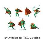 vector illustration set of... | Shutterstock .eps vector #517284856