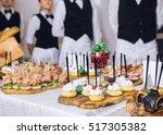 catering | Shutterstock . vector #517305382
