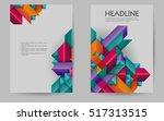 business brochure design layout ...   Shutterstock .eps vector #517313515