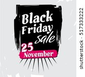 black friday november sale | Shutterstock . vector #517333222