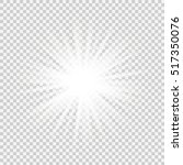 bright star. vector... | Shutterstock .eps vector #517350076