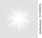 bright star. vector... | Shutterstock .eps vector #517350076
