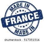 made in france. stamp. | Shutterstock .eps vector #517351516