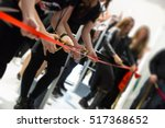 store grand opening   cutting... | Shutterstock . vector #517368652
